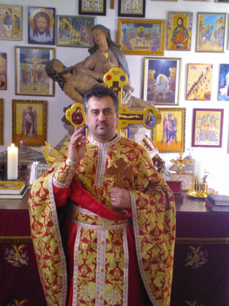 Parintele Vasile Florin Reut - Biserica Ortodoxa Romana Sfintii Imparati Constantin si Elena din Straubing