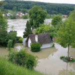 Hochwasser in Regensburg Juni 2013 - Inundatii in Regensburg Iunie 2013 - www.credinta-ortodoxa.com