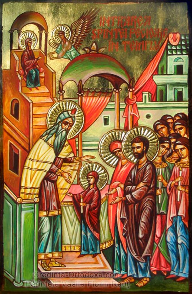 Intrarea in Biserica a Maicii Domnului * www.credinta-ortodoxa.com
