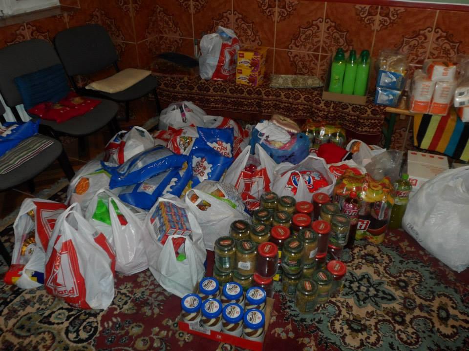 Cosul Familiei - actiunea noastra umanitara din Botosani - Noiembrie 2013