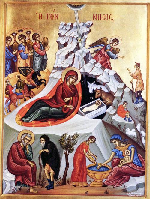 Nasterea Domnului - De ce umblă preotul cu icoana înaintea Crăciunului? * www.credinta-ortodoxa.com