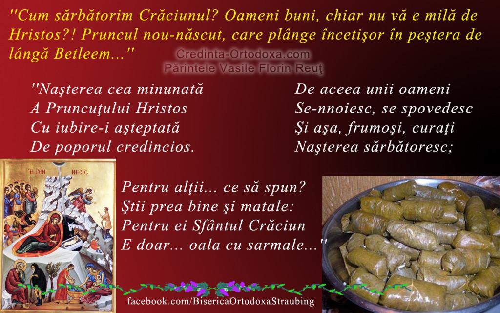 Nasterea Domnului sau sarbatorile de iarna? Ce inteles are pentru crestinul de azi Nasterea Domnului? * www.credinta-ortodoxa.com