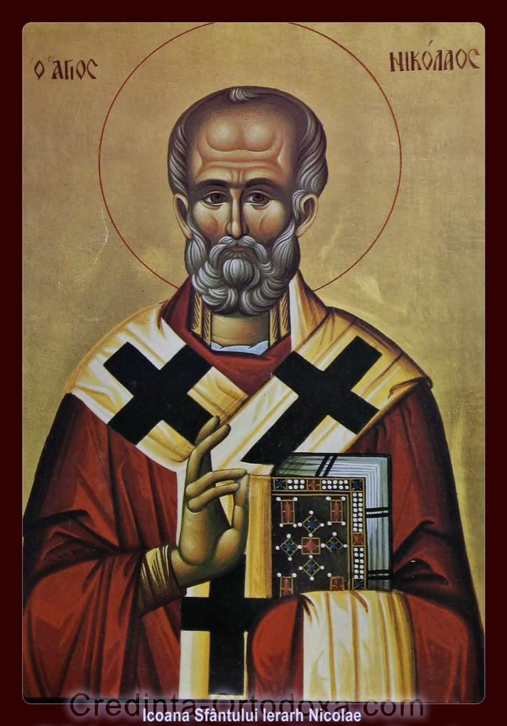 Sfantul Ierarh Nicolae, arhiepiscopul Mirelor Lichiei, marele facator de minuni * www.credinta-ortodoxa.com