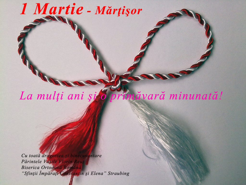 1 Martie - de Martisor, La Multi ani cu bucurie si o primavara minunata tuturor! * www.credinta-ortodoxa.com