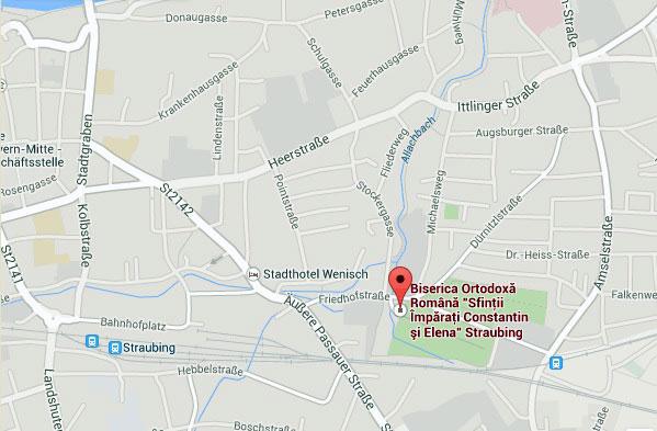 "Biserica Ortodoxa Romana ""Sfintii Imparati Constantin si Elena"" Straubing * www.credinta-ortodoxa.com"