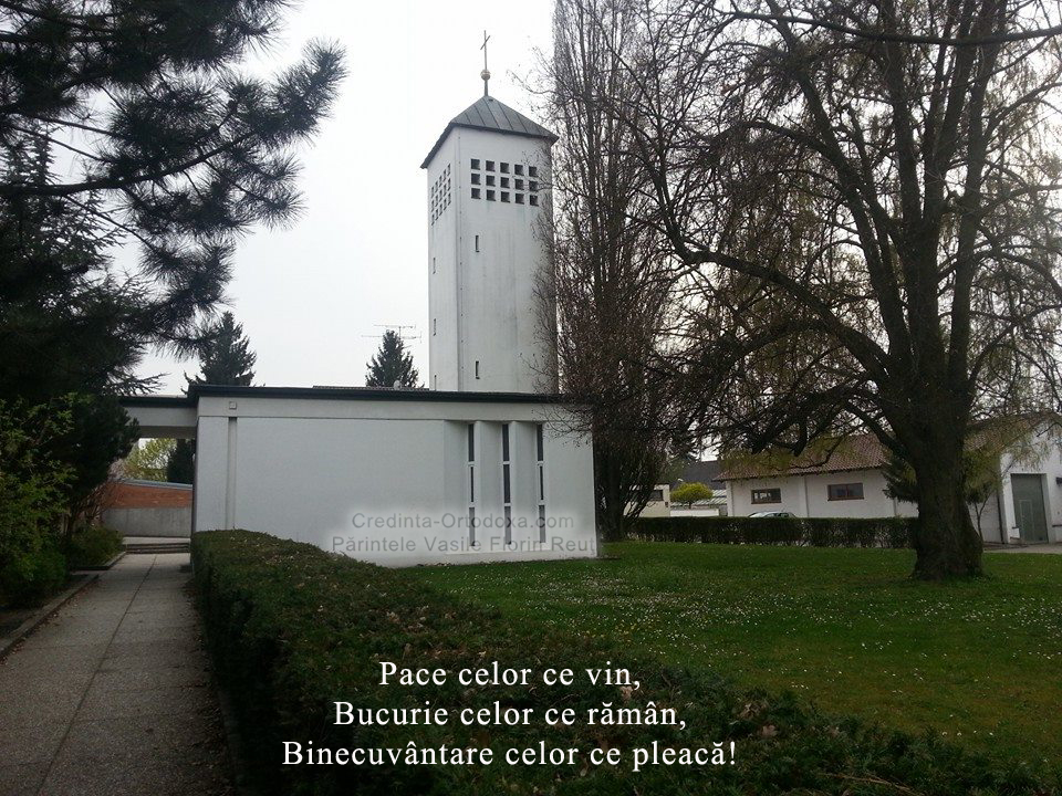 """Rumänisch-Orthodoxe Kirche """"Heiligen Konstantin und Helena"""" Straubing - Adresse: Friedhofskapelle der St. Michaelsfriedhof, Friedhofstraße 32, 94315 Straubing"""