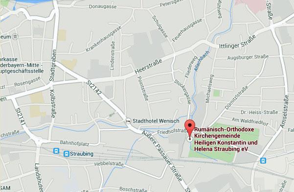 """Rumänisch-Orthodoxe Kirchengemeinde """"Heiligen Konstantin und Helena"""" Straubing e. V. * www.credinta-ortodoxa.com"""