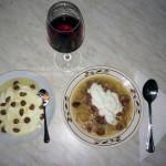"""Idee de cina sau cu ce ne mai rasfata coana preoteasa: Varza cu """"legume"""" si smantana, iaurt grecesc cu miere si alune si un pahar cu """"suc de struguri"""" * www.credinta-ortodoxa.com"""