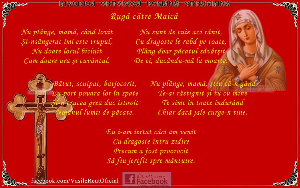 Ruga catre Maica * www.credinta-ortodoxa.com
