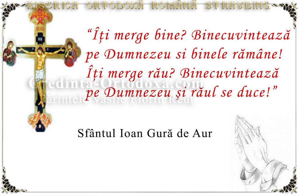 Sfaturi duhovnicesti - Sfantul Ioan Gura de Aur * www.credinta-ortodoxa.com