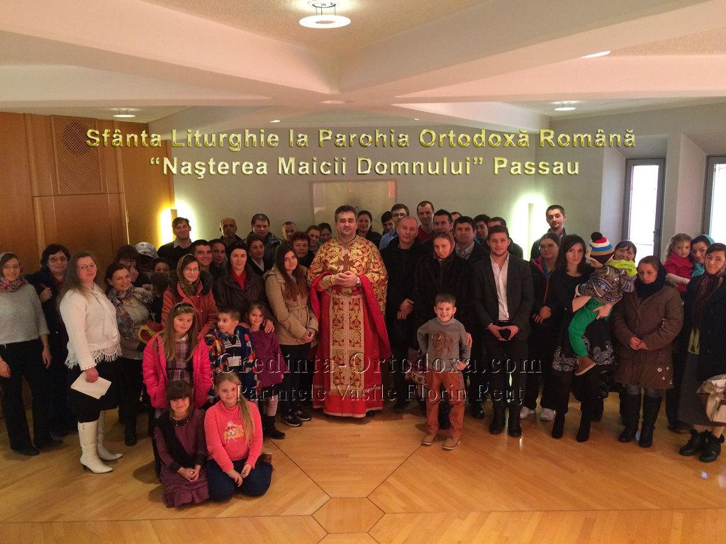 """Sfanta Liturghie la Parohia """"Nasterea Maicii Domnului"""" Passau - Poate sa ne ajute cineva sa gasim un locas de cult?"""