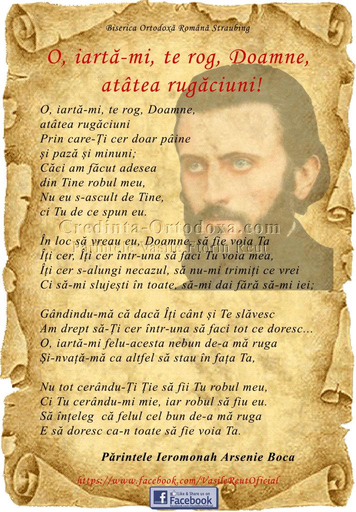 O, iarta-mi Te rog,  Doamne, atatea rugaciuni... - Parintele Arsenie Boca * www.credinta-ortodoxa.com