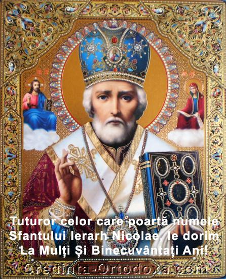 Sfantul Ierarh Nicolae, arhiepiscopul Mirelor Lichiei, mare facator de minuni * www.credinta-ortodoxa.com