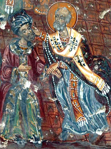 Palma Sfantului Nicolae - A fi smerit nu inseamna a fi lipsit de atitudine... Ortodoxia implica demnitate! * www.credinta-ortodoxa.com