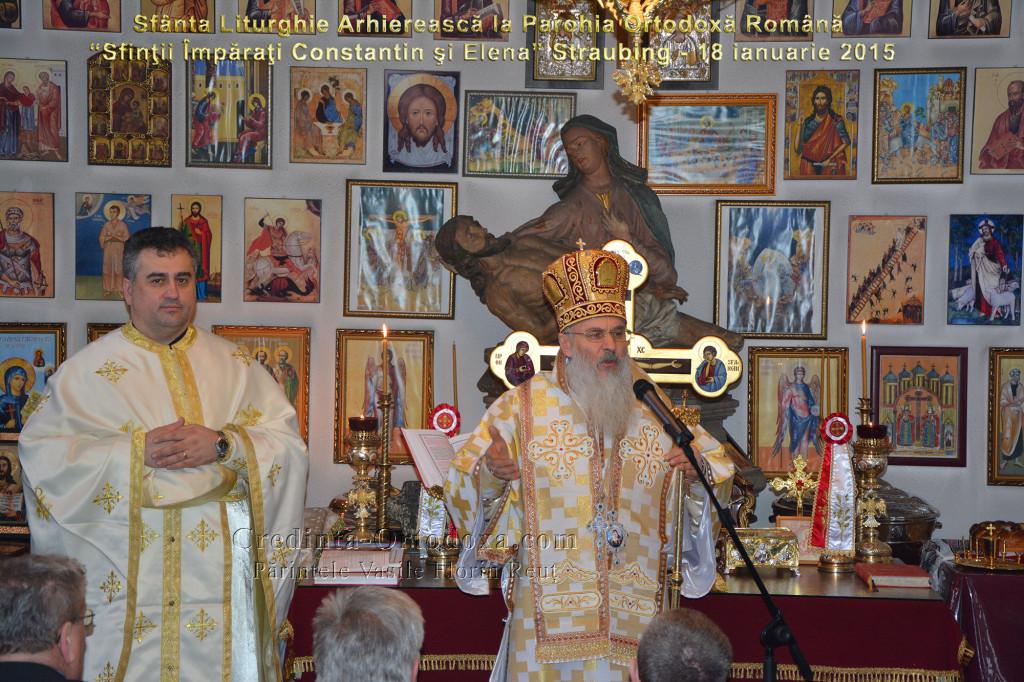 Binecuvantare Arhiereasca la inceput de an in Parohia Ortodoxa Romana din Straubing
