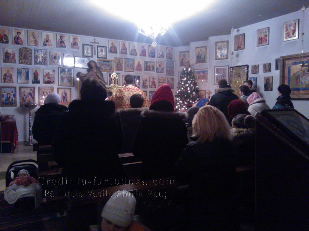 Sfanta Liturghie din Seara de Anul Nou 2015 la Biserica Ortodoxa Romana din Straubing