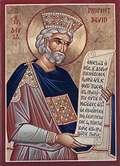 Psaltirea Proorocului si Imparatului David sau Psalmii lui David - Proorocul si Imparatul David