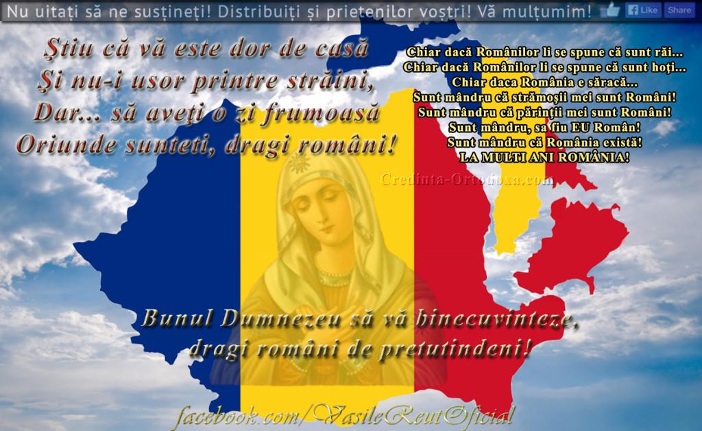 Rugaciune pentru tara noastra Romania si pentru neamul nostru romanesc