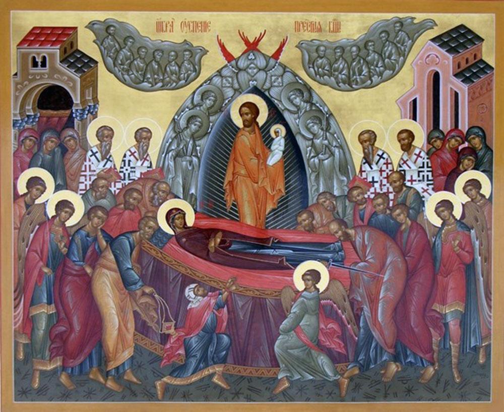 15. August  - das Hochfest Mariä Aufnahme in den Himmel (Maria Himmelfahrt)