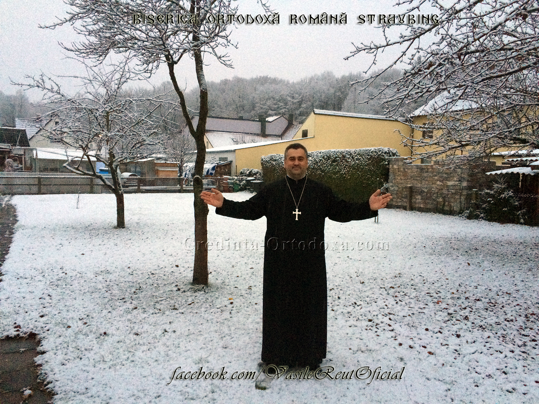 A venit iarna... (ne pregatim de plecare spre Straubing la Sfanta Liturghie)