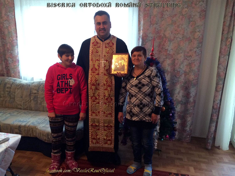 Bucuria de a păstra Credinţa şi Tradiţia Strămoşească: În vizită pastorală cu Icoana Naşterii Domnului la o familie de credincioşi din Bogen