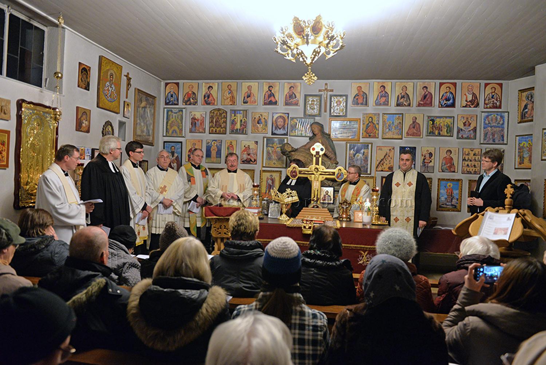 """""""Berufen, die großen Taten des Herrn zu verkünden"""": Gebetswoche für die Einheit der Christen - Ökumenischer Gottesdienst in der rumänisch-orthodoxen Kirche Straubing"""