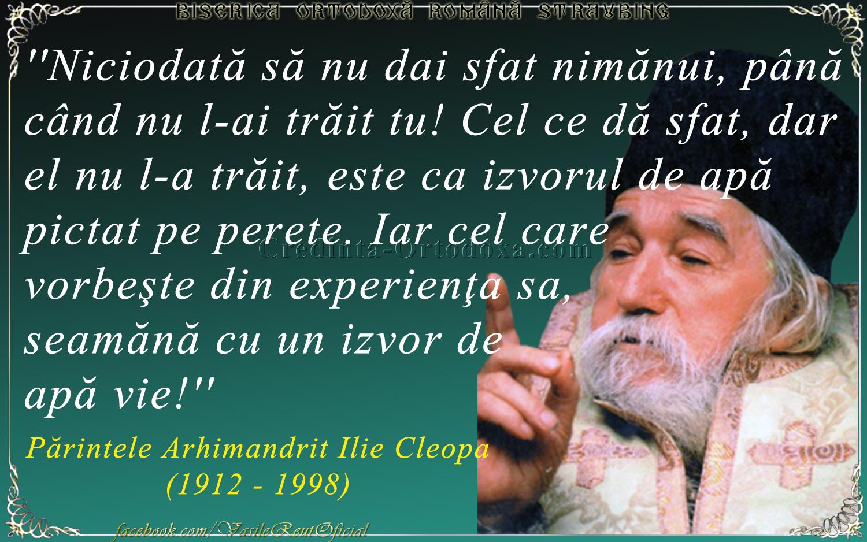 Părintele Arhimandrit Cleopa Ilie