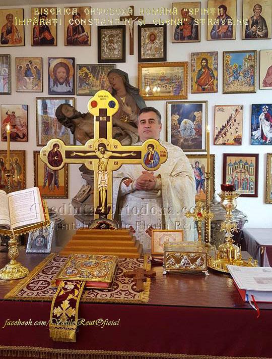 Renovarea Capelei Bisericii Ortodoxe Române din Straubing, Mai 2016 - Cronică în imagini