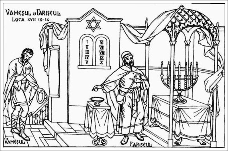 Vameşul şi fariseul: Mândria este cel mai mare păcat dintre toate păcatele şi începutul oricărui păcat