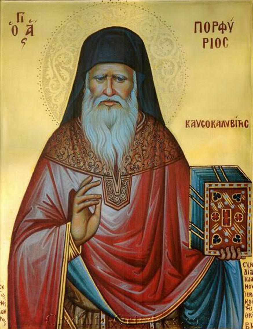 Sfântul Porfirie Kafsokalivitul
