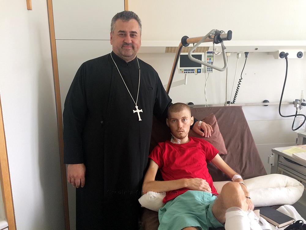 Cea mai mare dorinţă a lui Nicolae Cosmin Păunescu: să mă fac bine şi să merg acasă...