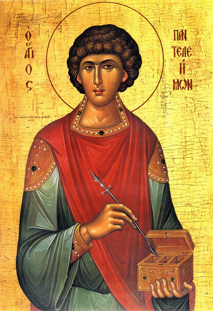 Sfântului mare Mucenic şi tămăduitor Pantelimon, protectorul medicilor
