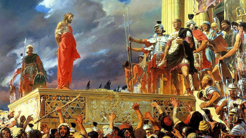 Mântuitorul Iisus Hristos şi Pilat