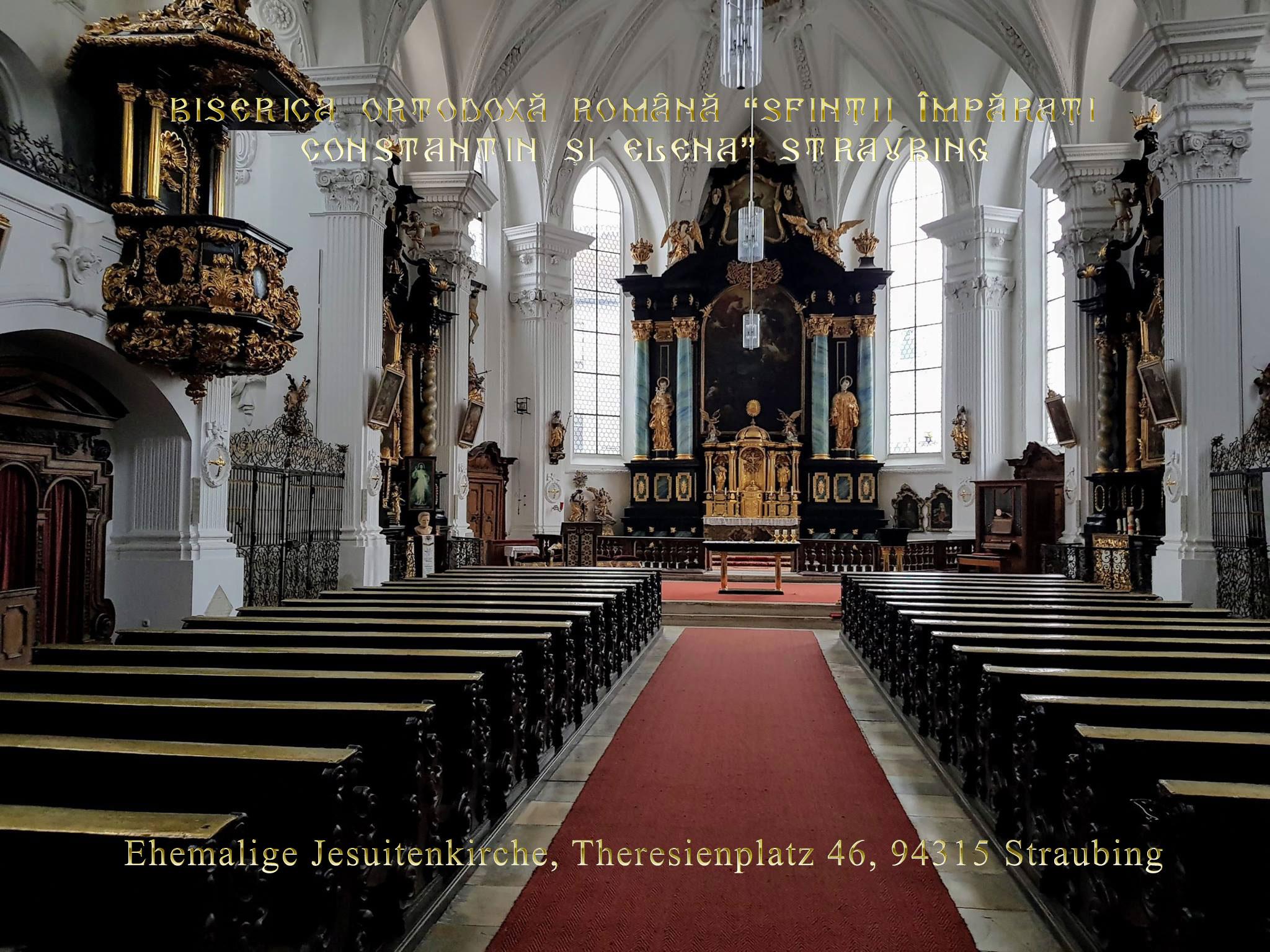 """Biserica Ortodoxă Română """"Sfinţii Împăraţi Constantin şi Elena"""" Straubing - Un loc de suflet pentru suflet, un colţişor de """"acasă"""" pentru toţi românii"""