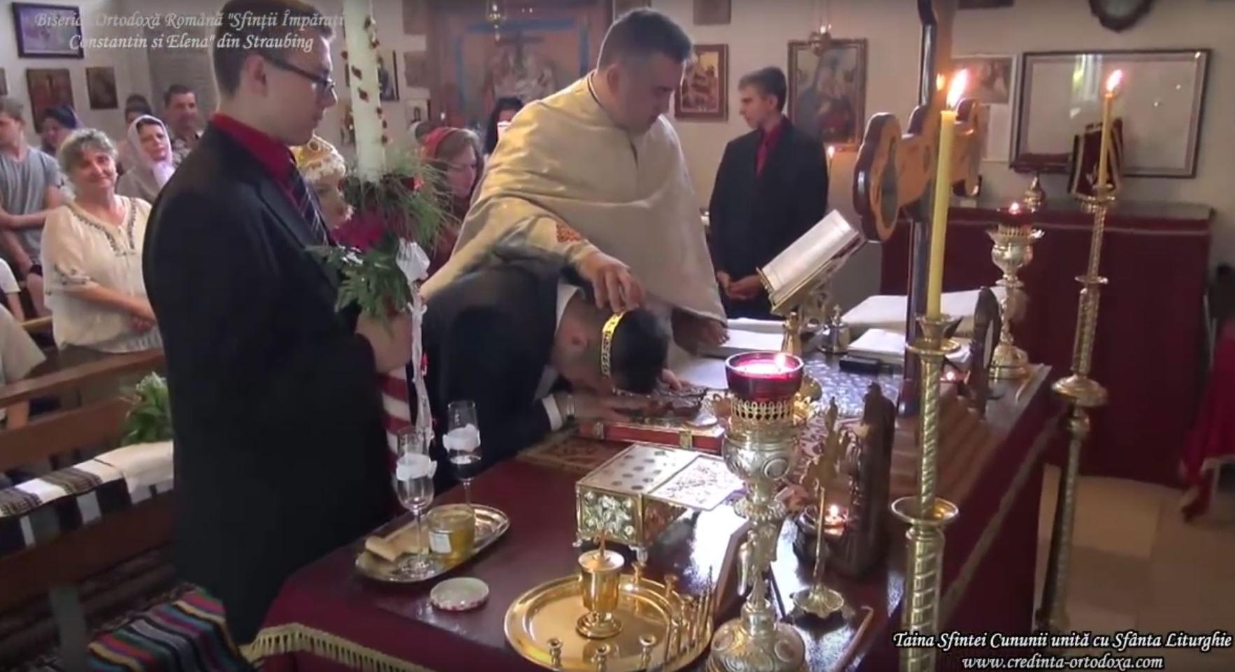 Taina Sfintei Cununii la Biserica Ortodoxa Română din Straubing!