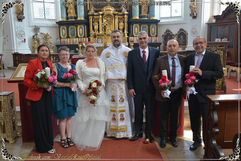 Binecuvintează Doamne Nunta aceasta - Taina Sfintei Cununii la familia Todoran Dumitru Nicolae şi Doina Iuliana