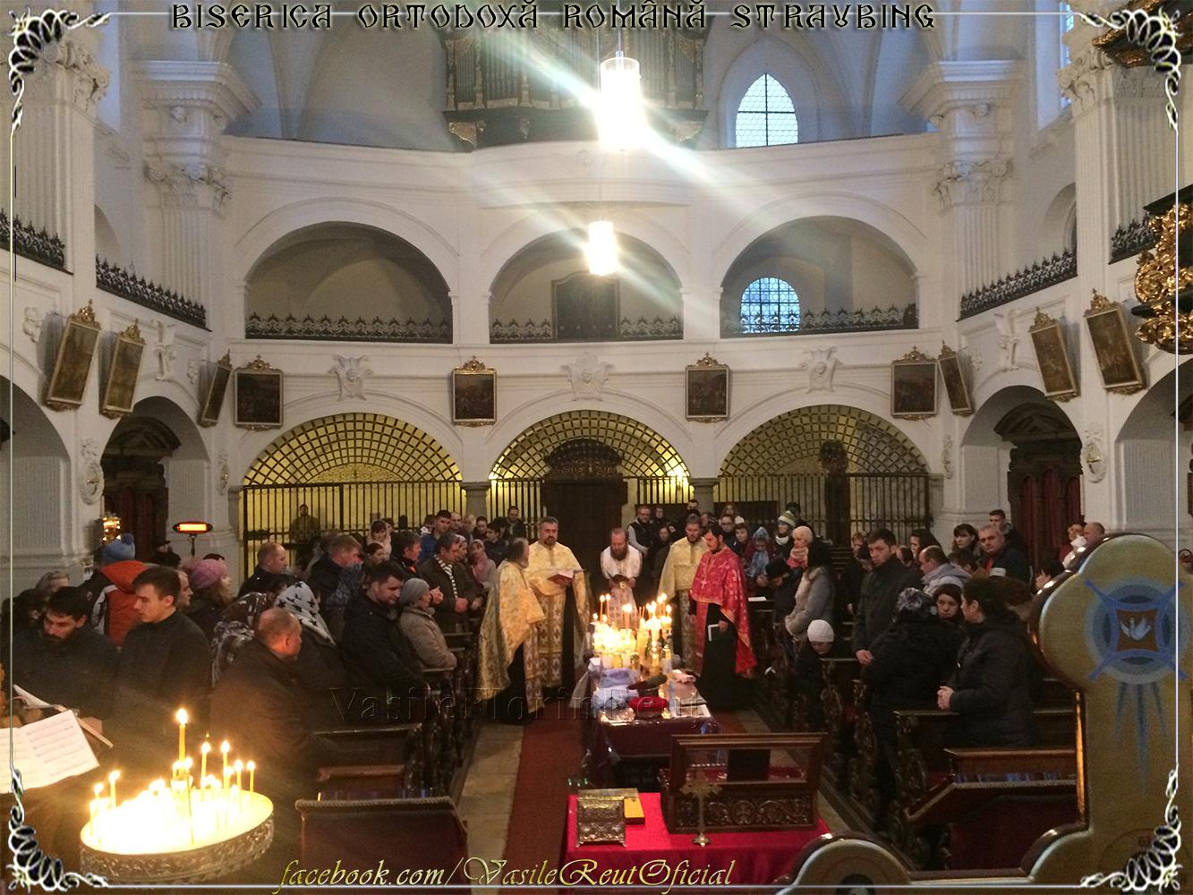 Taina Sfântului Maslu - Biserica Ortodoxă Română Straubing