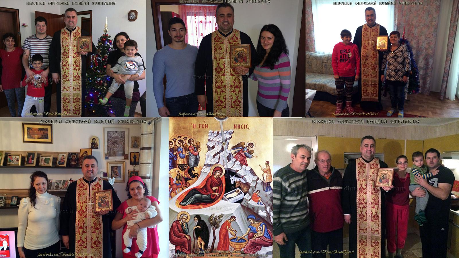 Vizita Pastorală cu Icoana Nașterii Domnului - decembrie 2018