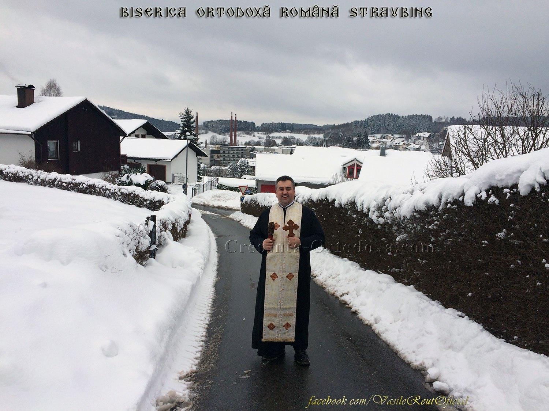 În vizită Pastorală de Bobotează la credincioşii Parohiei
