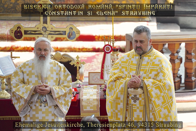 Înalt Prea Sfinţia Sa Părintele Mitropolit Dr. Serafim Joantă împreună cu Părintele Vasile Florin Reuţ
