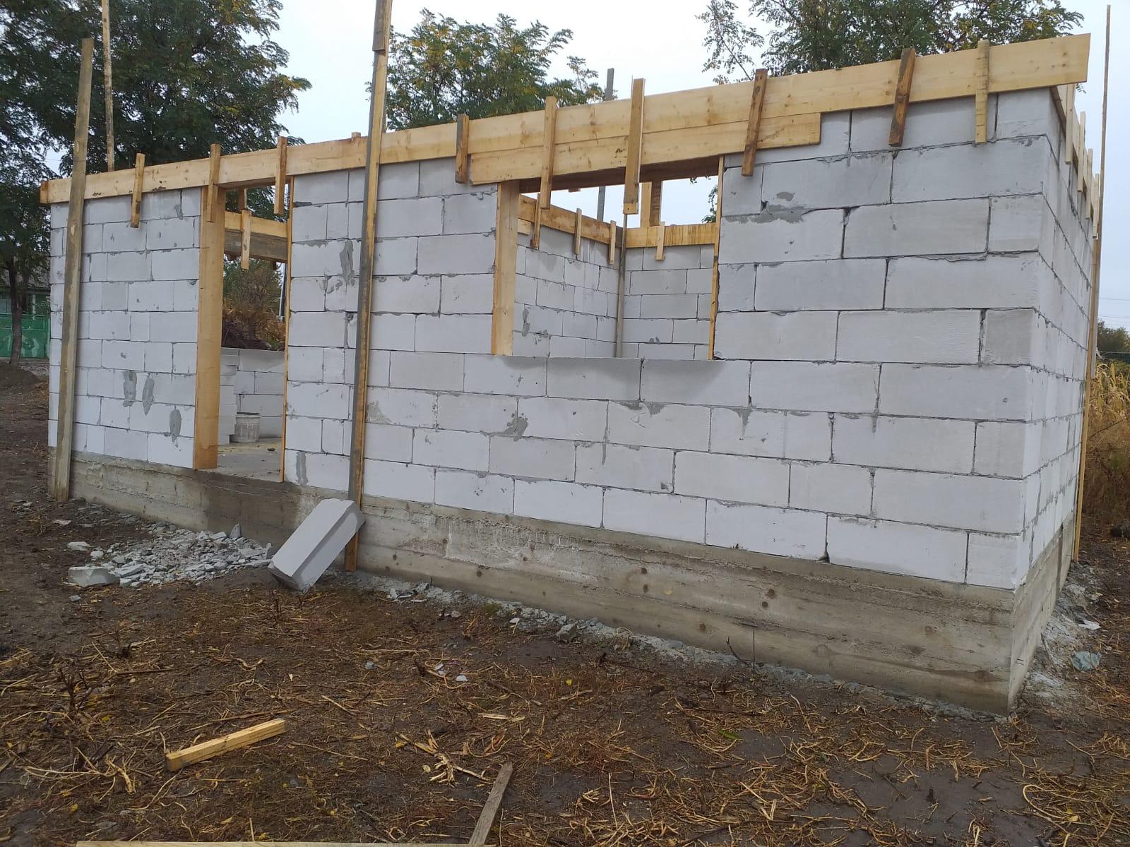 UPDATE 04.10.2019 - Astăzi s-a finalizat cofrajul pentru turnarea brâului din beton armat
