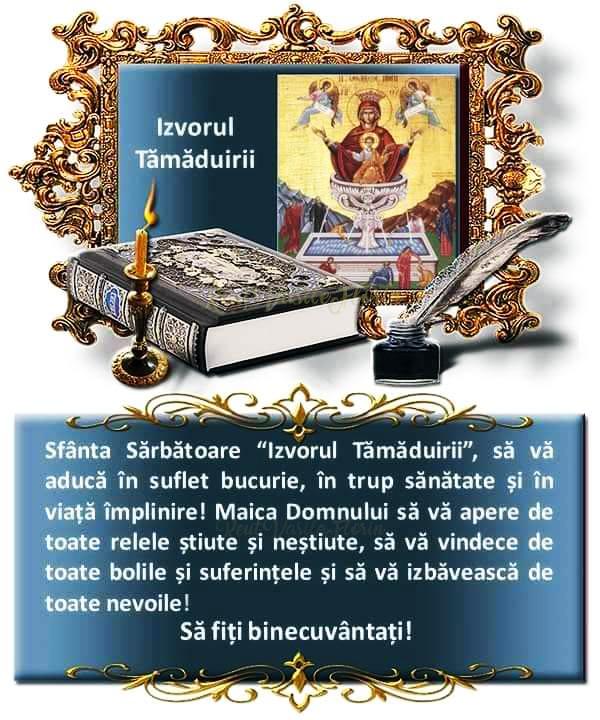 Izvorul Tămăduirii - Hristos a înviat!